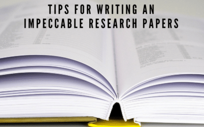 There's More to Writing an Impeccable Research Paper Than Meets the Eye