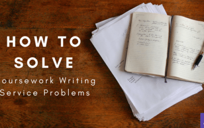 How to solve the biggest problem with coursework writing service