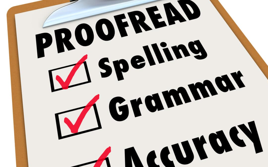 How to Proofread and Edit Your Assignments